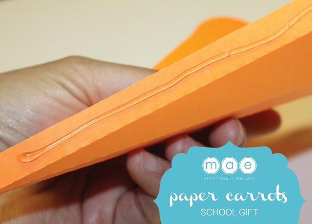 Paper Carrots - School Gift4