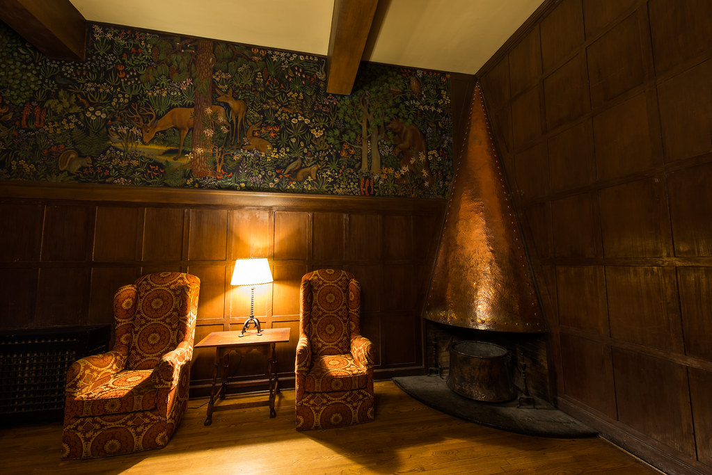 The Overlook Hotel, The Mural Room (The Ahwahnee Hotel, Yosemite National Park)
