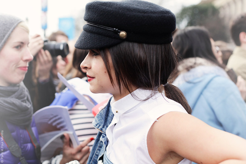 Miroslava Duma at Paris Fashion Week FW13 by Carin Olsson (Paris in Four Months)