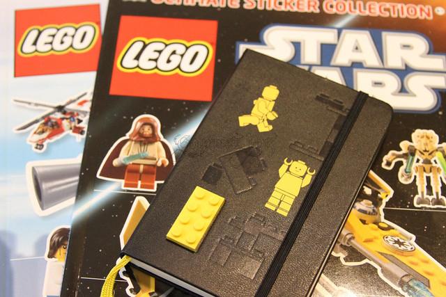 Moleskine Lego Notebook LEGO TIME!