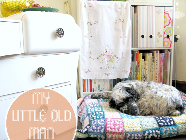 studio details : my little old man by © emma lamb