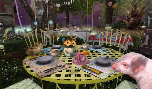 Home Sweet Home ~ Twilight Garden ~ Party Guests