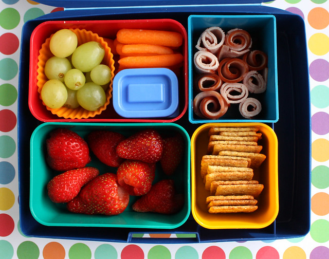 Brightly Colored Big Kid Bento #724