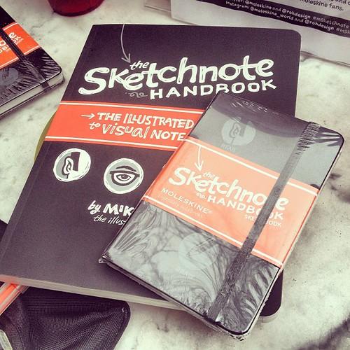 Sketchnote Handbook and Sketchnote Book! #msketchnote