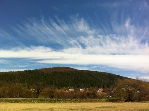 primavera clouds spring slovenia slovenija jezero cerknica gorenje