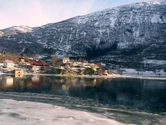 Dans le train entre Oslo et Bergen