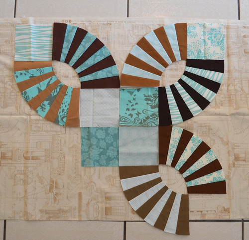 A Pickle Dish Quilt - planning, starting