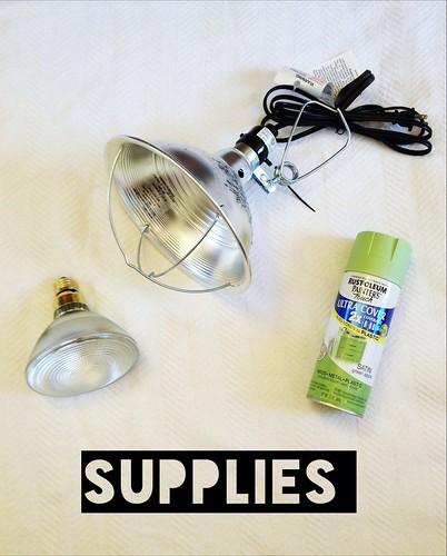 Industrial light DIY