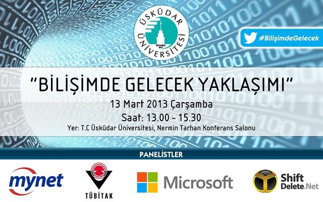 Üsküdar Üniversitesi'nde 'Bilişimde Gelecek Yaklaşımı' Paneli