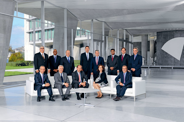 Executive Board of Nestlé S.A. (December 2012)