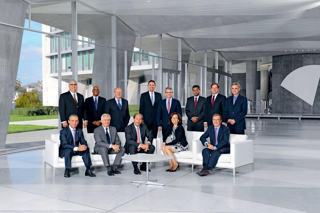 Executive Board of Nestlé S.A. (December 2012)