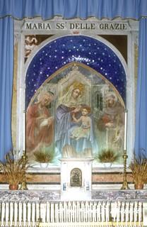 Minturno (LT), 1998, Festa della Madonna delle Grazie e  Sagra delle Regne.