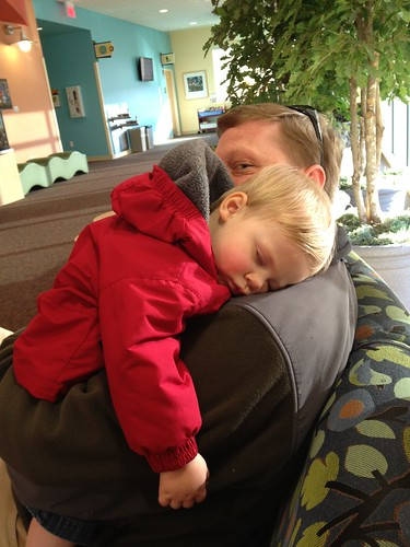 Conked out at American Children's Hospital