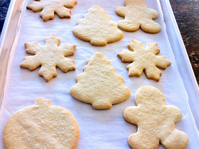 Baked Sugar Cookie Cutouts
