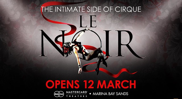The intimate side of cirque - Le Noir