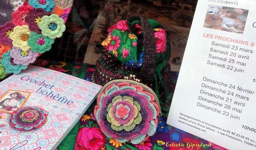 Cours de crochet 75009 Paris 2013