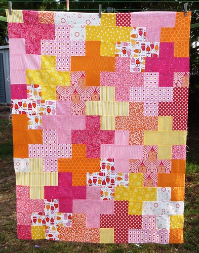 QUILT TOP - Girl plus quilt