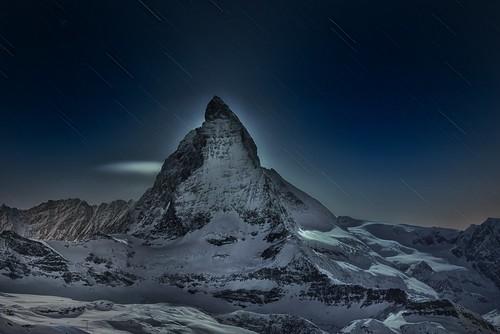 Matterhorn Star Trails {Explored March 20, 2013}