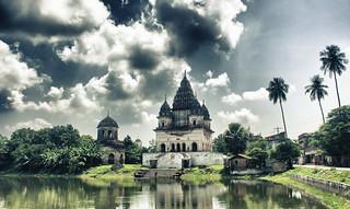 Shiva Temple, Puthia, Rajshahi, Bangladesh