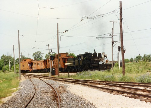 The Illinois Railway Museum.  Union Illinois.  July 1986. by Eddie from Chicago