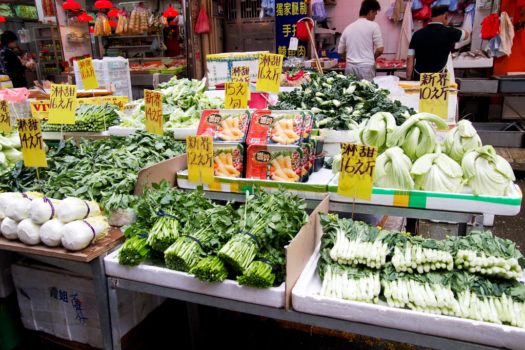 organic food market in hong kong
