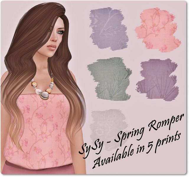 SySy - Spring Romper Prints