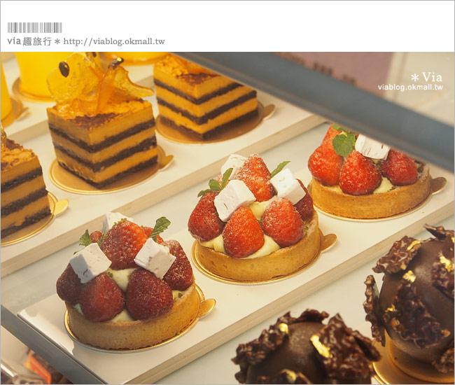 【台中咖啡廳】台中甜點推薦~小梗甜點咖啡!超好吃的季節&每日限定草莓千層!27