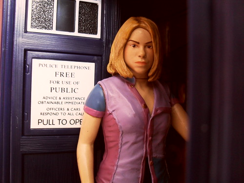 Rose in the TARDIS