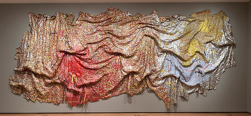 Gravity and Grace, 2010, by El Anatsui