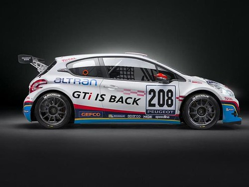 Peugeot 208 GTi 24 Horas Nürburgring 2013