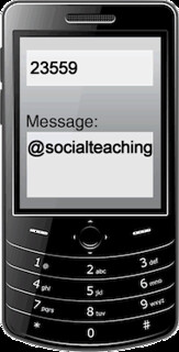 to join, text @socialteaching to 23559