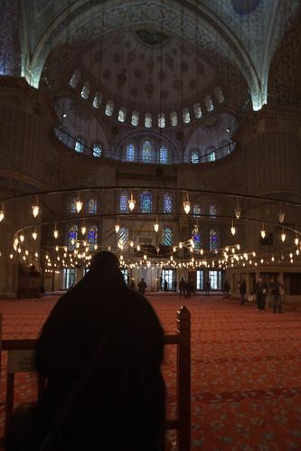 Sultan Ahmet Moschee; copyright 2013: Georg Berg