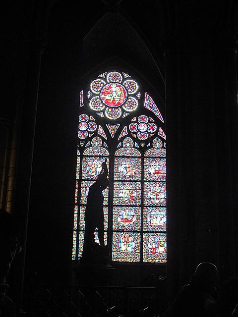 Paris /Inside  Notre-Dame