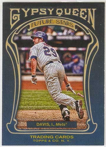 2011 Gypsy Queen Future Stars Ike Davis