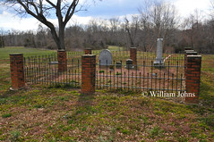 Cemetery at historic Courthouse