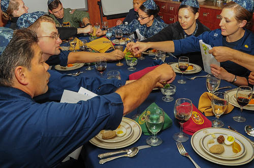 USS BOXER, at sea - A Navy rabbi was on hand aboard USS Boxer (LHD 4) to celebrate Passover with the ship's crew March 28.