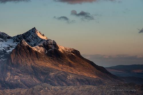 winter snow skye sunrise scotland isleofskye unitedkingdom cuillin elgol blackcuillin sgurrnangillean