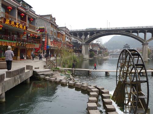 Hunan13-Fenghuang-Ville-Rive Nord (82)