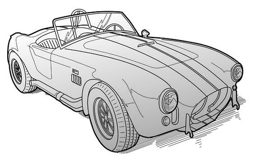 Shelby Cobra by Colin Murdoch Studio