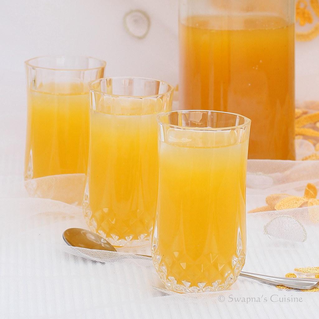 Swapna's Cuisine: Passion Fruit Squash Recipe