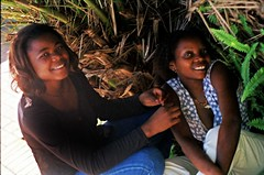 Happy Valley Ezulwini Swaziland Lucy and Sister from Mozambique March 28 1999 037