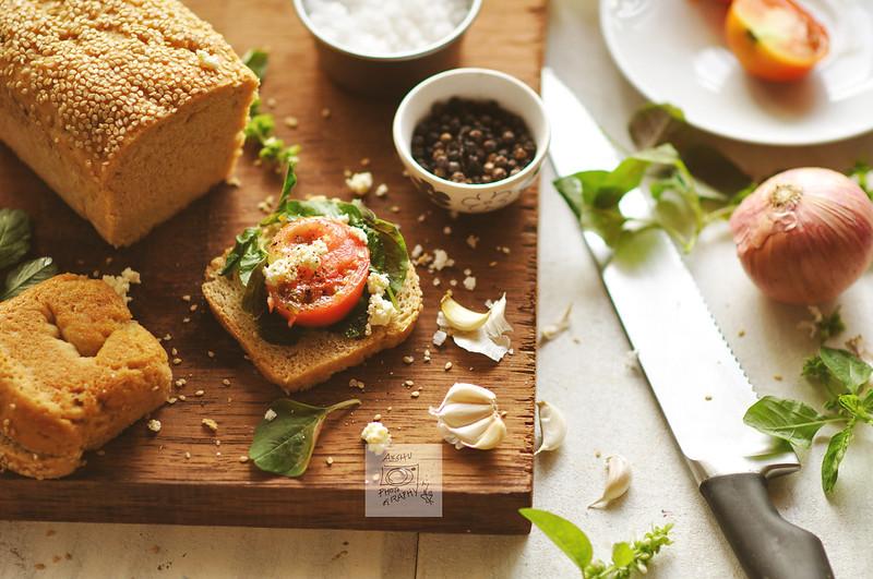 Day 91.365 - Making of Sandwich
