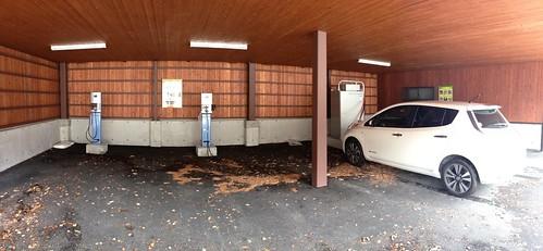 乗鞍高原観光センター EV充電設備