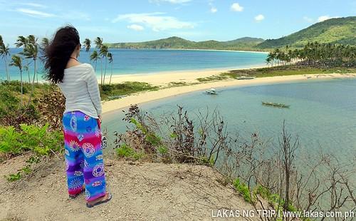 Brenna at Nacpan and Calitang Twin Beach