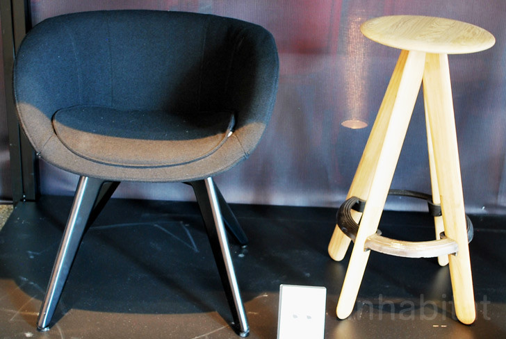 Astonishing Scoop Low Slab Bar Stool Tom Dixon Tom Dixon At The Sa Gmtry Best Dining Table And Chair Ideas Images Gmtryco