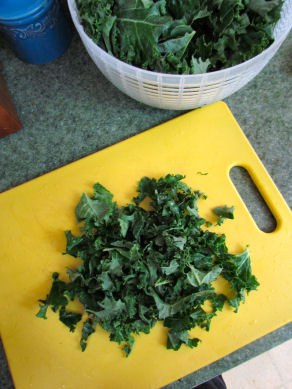 Bite Sized Kale