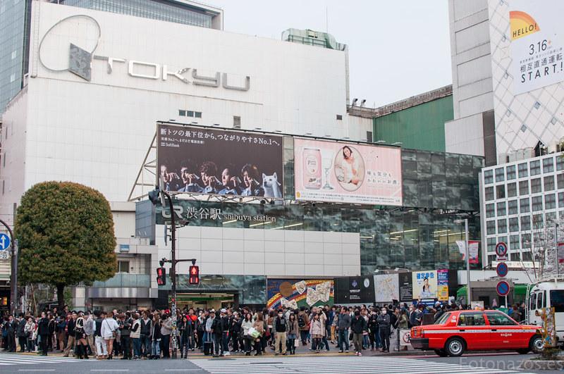 El cruce de Shibuya en Tokio