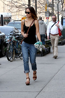 Olivia Wilde Camisole Vest Celebrity Style Women's Fashion