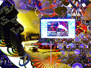 Fractals onna my mind n screen