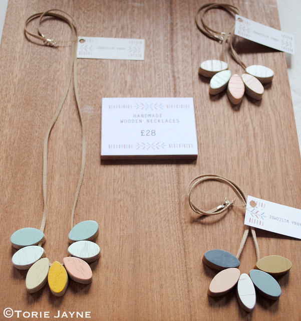 Wooden Necklaces by Anna Wiscombe